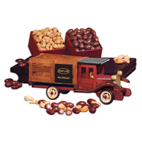Classic 1925 Stake Truck with Chocolate Covered Almonds & Jumbo Cashews
